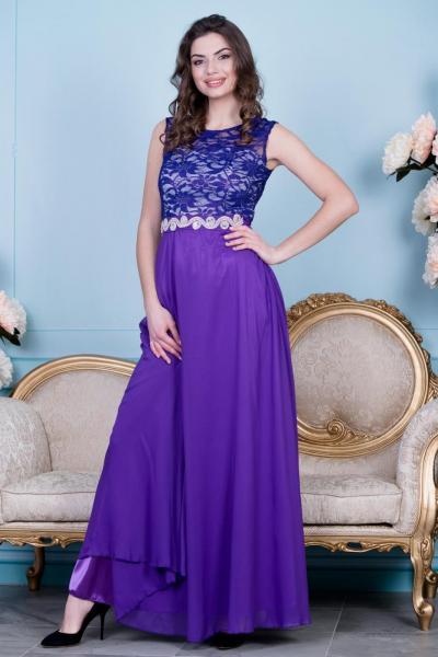 Длинно нарядное платье 6030
