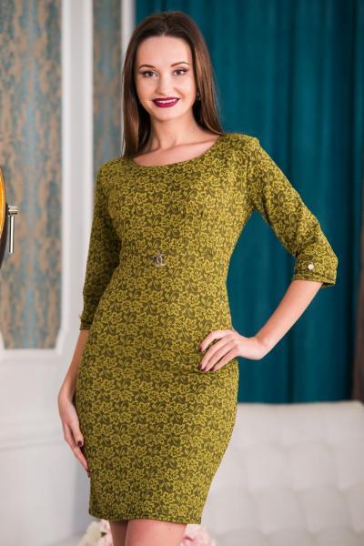 Короткое нарядное платье 5207