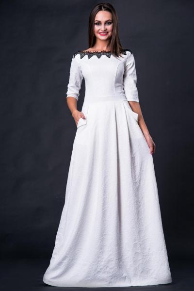 Длинное нарядное платье 5203