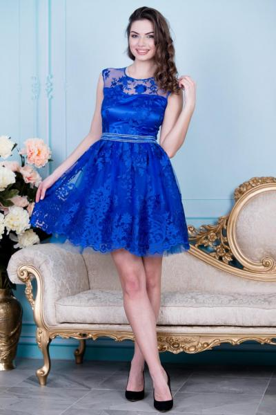 Элегантное нарядное платье 6006