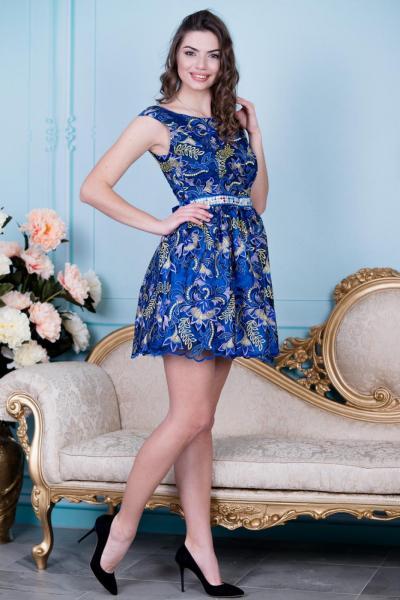 Элегантное нарядное платье 6012