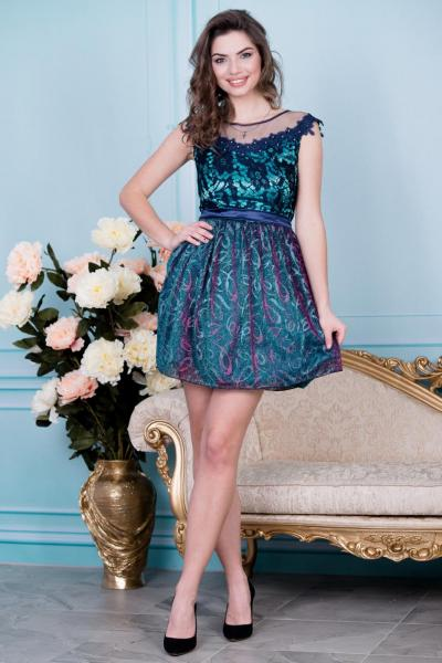 Элегантное нарядное платье 6022