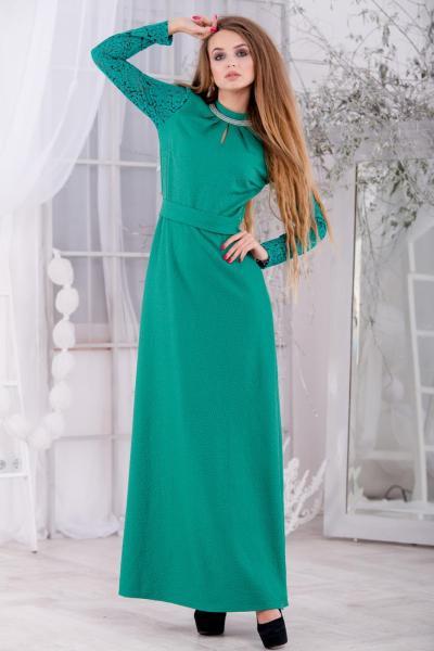 Длинное нарядное платье 5268