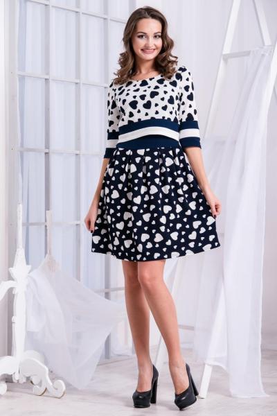 Повседневное платье 5235
