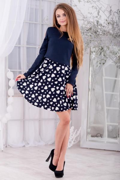 Повседневное платье 5241-r1