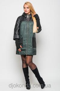 Фото Женская одежда для пышных дам 48+, Куртки женские больших размеров 48+ Куртка удлиненная DONA