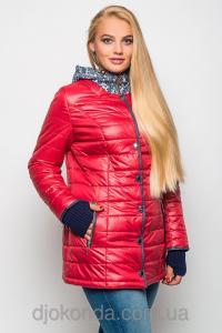Фото Женская одежда для пышных дам 48+, Куртки женские больших размеров 48+ Стильная утепленная куртка Helix