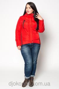 Фото Женская одежда для пышных дам 48+, Куртки женские больших размеров 48+ Яркая стильная парка Helix