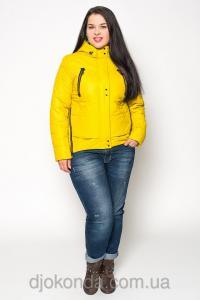 Фото Женская одежда для пышных дам 48+, Куртки женские больших размеров 48+ Стильная парка Helix