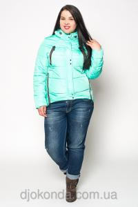 Фото Женская одежда для пышных дам 48+, Куртки женские больших размеров 48+ Парка модная большой размер Helix