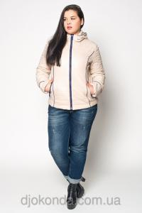 Фото Женская одежда для пышных дам 48+, Куртки женские больших размеров 48+ Стильная стеганая куртка Helix