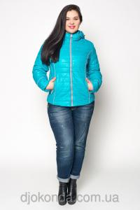 Фото Женская одежда для пышных дам 48+, Куртки женские больших размеров 48+ Модная стеганая куртка Helix