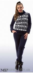 Фото Женская одежда для пышных дам 48+, Спортивные костюмы больших размеров 48+ Спортивный костюм на флисе