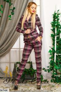 Фото Костюм женский Костюм женский брюки и пиджак