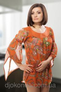 Фото Блузки и туники женские Туника трикотажная оптом