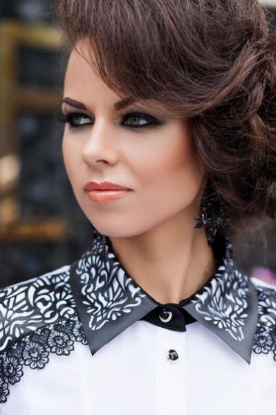 Женская рубашка строгая Юлия (23)