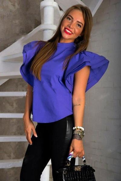 Блузка женская стильная 137 Ген $