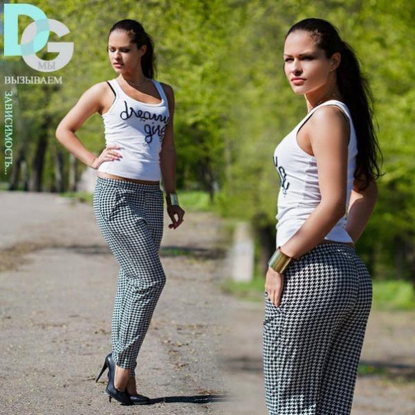 Стильные женские штаны Д 3 гл $