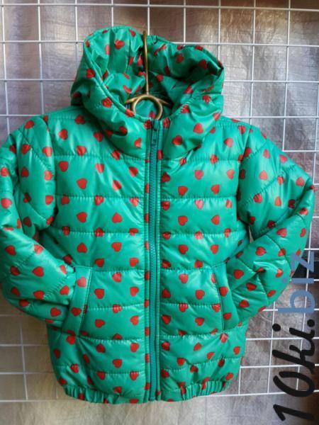 Детская деми куртка на девочку 2-6 лет - Куртки демисезонные для девочек в магазине Одессы