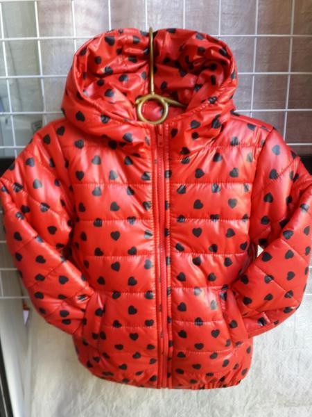 Детская деми куртка на девочку 2-6 лет
