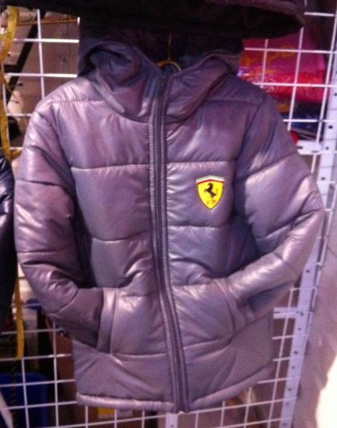 Подростковая демисезонная куртка Феррари 128-146