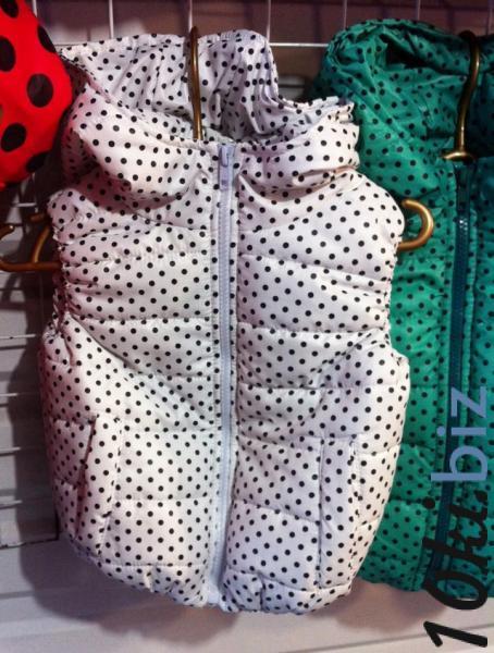 Жилет в мелкий горошек на девочку 92-116 - Жилеты детские для девочек в магазине Одессы