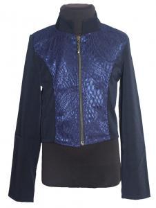 Фото Детские пиджаки, кофты для девочек оптом Классический пиджак на змейке