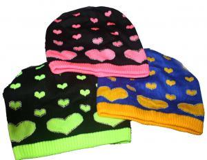 Фото Шапки детские, Шапки на девочку Подростковая вязанная шапочка на флисе