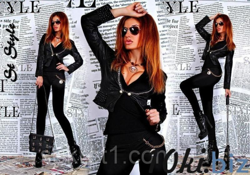 Куртка. кож.зам ГЛ - Куртки кожаные женские в магазине Одессы