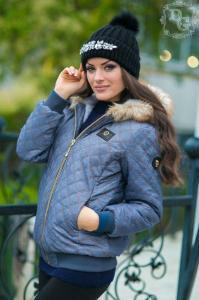 Фото КУРТКИ, Пиджаки, верхняя одежда и др., Куртки женские Куртка 593 (ГЛ)