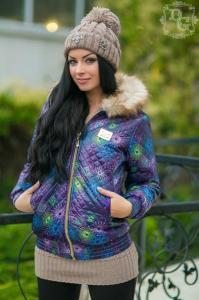 Фото КУРТКИ, Пиджаки, верхняя одежда и др., Куртки женские Куртка 592 (ГЛ)
