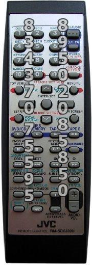 JVC RM-SDXJ20U