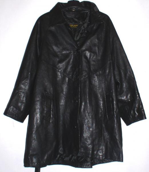 "Куртка кожаная женская ""Genuine leather"" *3560"