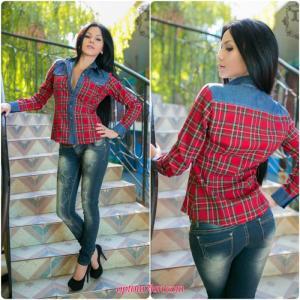 Фото Рубашки женские Рубашка DG586