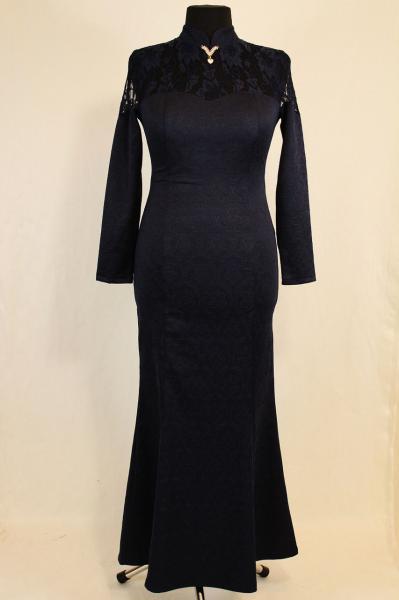 Вечернее длинное платье годе 44-52 р