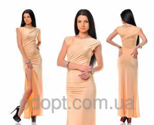 Фото Одежда женская оптом, Платья женские 2016 Женское платье (8 цветов; 42-48 р-р.)
