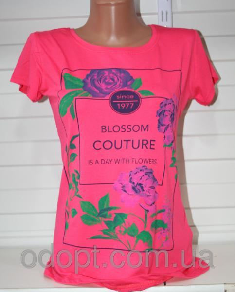 Модная женская футболка Турция (44-46 р.)