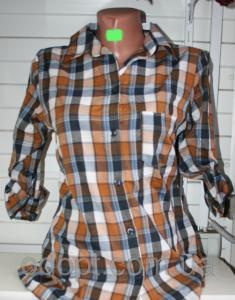 Фото Одежда женская оптом, Рубашки женские Женская модная рубашка Турция НОРМА S-2XL