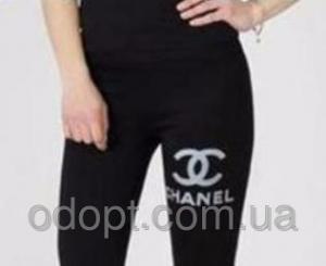 Фото Одежда женская оптом, Леггинсы и лосины Лосины Бренд-Накатка D&G, YSL, Chanel (42-50 р-р.)