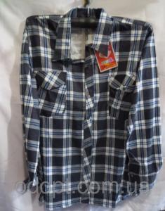 Фото Одежда мужская оптом, Мужские рубашки Мужская рубашка длинный рукав полубатал (р.XL-5XL)