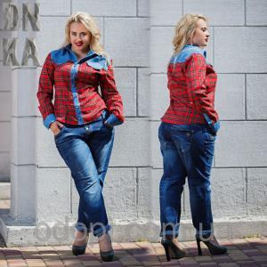 Фото Одежда женская оптом, Джинсы женские Женские джинсы (батал)