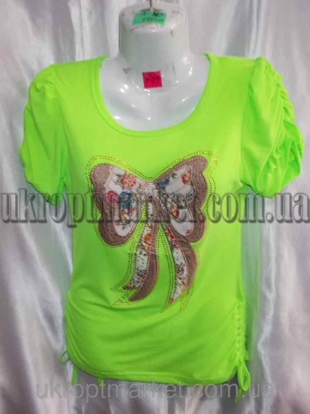 """Женская футболка Батал """"Vivat-2"""" ML-5556 №P109823"""