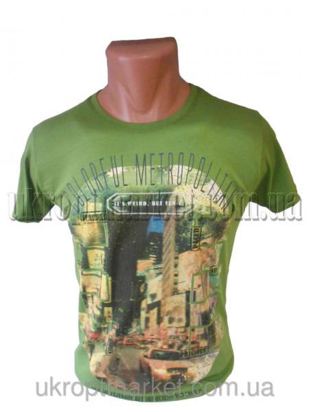 "Мужская футболка ""Dublin"" LB-2110 №C79381"