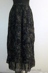 Фото ЖЕНСКИЕ ЮБКИ ОПТОМ Женская юбка в цветочек