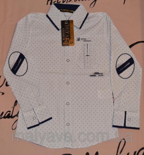 Стильная рубашка оптом от 128 до 164 Blueland