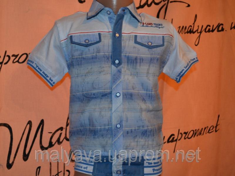 Рубашка марлевка от 86 до 110 Blueland