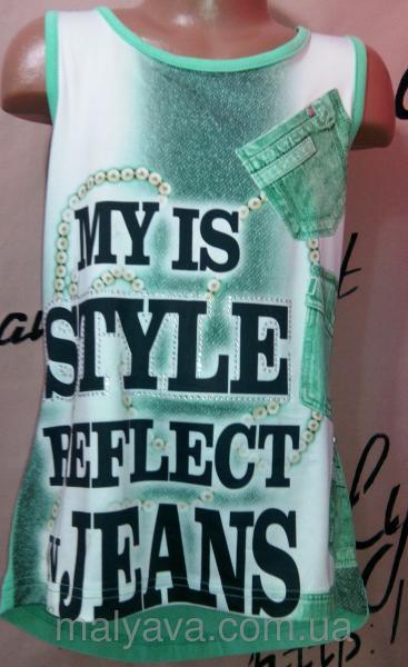 Модная футболка для девочки от 128 до 164 Blueland