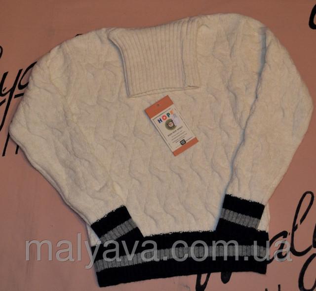 Шерстяной свитер горло для мальчика от 128 до 164 Hope
