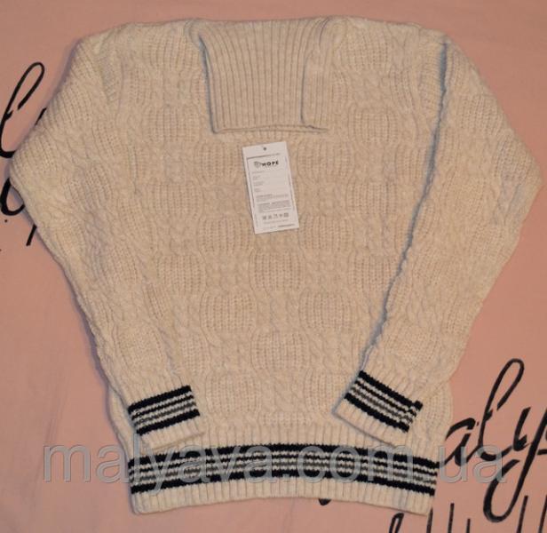 Бежевый свитер для мальчика от 128 до 164 Hope