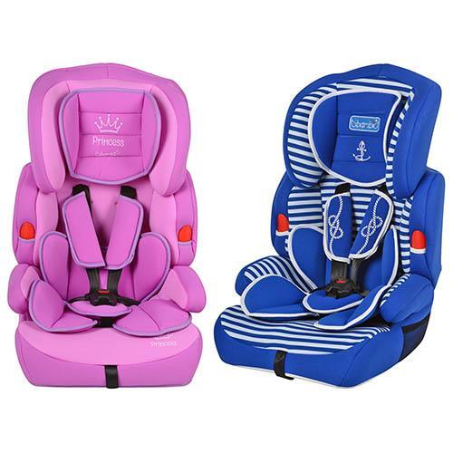 Автокресло M 2706 (2шт) детское, 2 вида(фиолет,синее),группа 1-2-3,разм кресла 72-45-41см,в кор-ке,